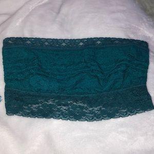 Free People lace trim bandeau